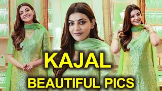Actress Kajal Aggarwal latest pics create buzz on social m..