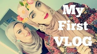 MY FIRST VLOG| White Friend Tries Hijab For A Day| Immy
