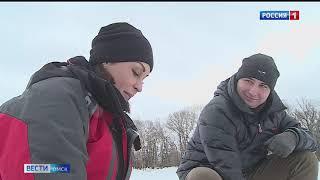 Омичка Виктория Бурмистрова стала призёром кубка России по зимней рыбалке на мормышку