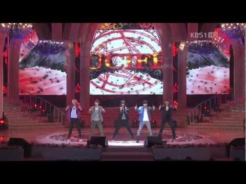 【1080P】120325 SHINee - Lucifer @ 2012 Seoul Peace Concert