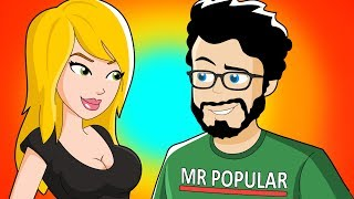 How I Became Popular in High School (Animated Story)