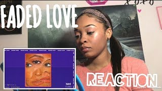 TINASHE - FADED LOVE (AUDIO) FT. FUTURE | REACTION
