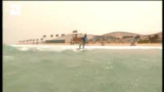 Julien Kerneur y Steph Bridge dominan la Copa del Mundo de ´Kiteboard' de Fuerteventura.wmv