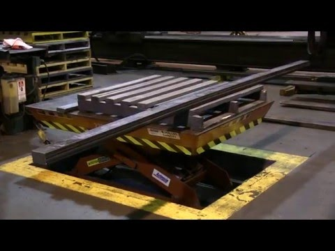 Autoquip's Series Pit Mounted Scissors Lift