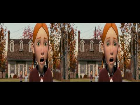 Monster House. (Sneak Peak - 3D Version)