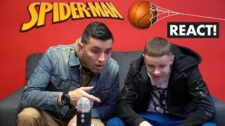 Spiderman Basketball Episode 1 Behind The Scenes React