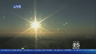 TODAY'S FORECAST: Here's the latest from the KPIX 5 newsroom