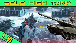 Solo High Tank PvP Banshee Gameplay | The Division 1.5