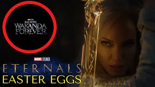 ETERNALS Movie Trailer Breakdown + BLACK PANTHER 2 WAKANDA FOREVER Movie Title Explained