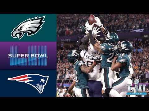 Eagles vs. Patriots | Super Bowl LII Game Highlights