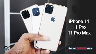 iPhone 11/iPhone 11 Pro/iPhone 11 Pro Max Release Date, Price and Characteristics