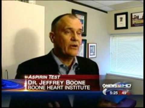 AspirinWorks Test Highlighted on KUSA-TV 9News