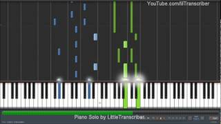 Maroon 5 - Payphone (Piano Cover) ft Wiz Khalifa by LittleTranscriber