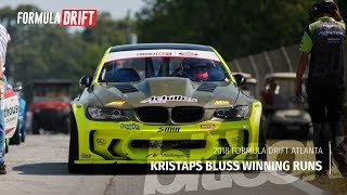 Kristaps Bluss Winning Runs at Formula Drift Atlanta 2018 | #bitlook