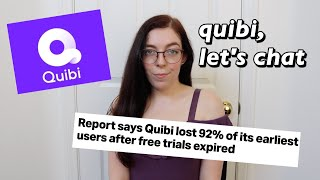 Quibi is drowning