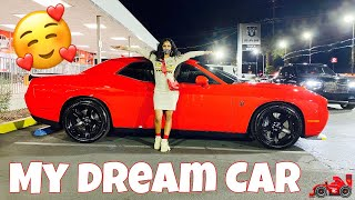 BUYING MY DREAM CAR 2021 DODGE RED EYE HELLCAT!!