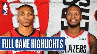 ROCKETS at TRAIL BLAZERS   FULL GAME HIGHLIGHTS   January 29, 2020