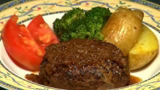 How to Make Hamburg Steak (Recipe) | Cooking with Dog