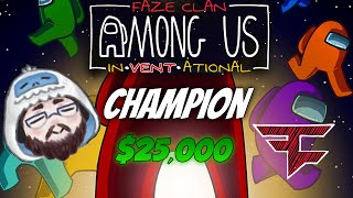 How I Won The Biggest Among Us Tournament in the World