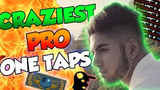 """CS:GO - CRAZIEST PRO ONE TAPS OF ALL TIME! - """"What is this madness, DAN?!"""""""