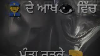 Thug life whatsaap status... New song Punjabi  thug status gif