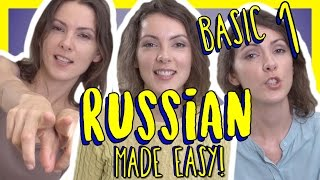 Learn Russian Vocabulary - 125 Basic Russian Words - Russian Made Easy Vol. 1