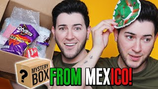 I PAID a FAN $200 TO MAKE ME A MAKEUP MYSTERY BOX... Mexico Edition!