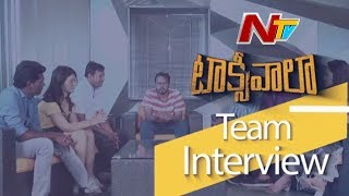 LIVE: Taxiwala team excl. interview; Vijay Deverkonda, Pri..