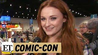 EXCLUSIVE: 'Game of Thrones' Star Sophie Turner Brings 'Amazing Accessory' Joe Jonas to Comic-Con