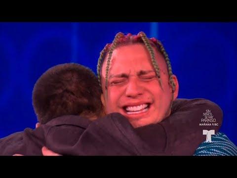 Lary Over lloro de la emoción al conocer a su padre