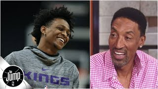 Scottie Pippen getting excited about Kings, says they're in Warriors' 'rear view mirror' | The Jump
