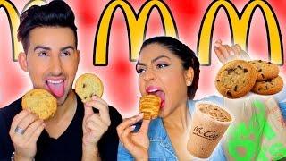 Trying McDonald's McCafe TASTE TEST!