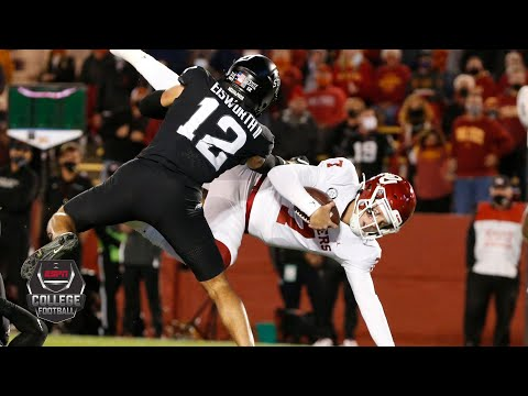 Oklahoma Sooners vs. Iowa State Cyclones | 2020 College Football Highlights