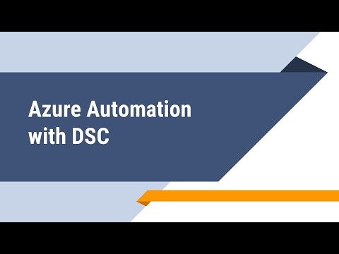 Azure Automation with DSC
