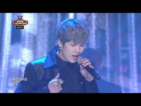 B.A.P - Rain Sound, 비에이피 - 빗소리, Show champion 20130220