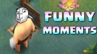 Clash Of Clans Funny Moments ♦ COC Glitches, Fails, Wins and Trolls Compilation