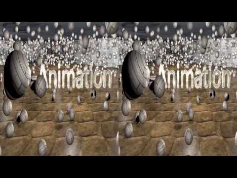 Blender Real 3D SBS Fluid HD