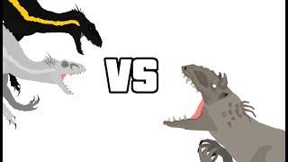 DBP Episode 21: Indominus Rex Vs 2x Indoraptors (Mini Collab With Allosaurus16 And Gummer)