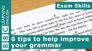 Exam Skills: 6 tips for improving your grammar