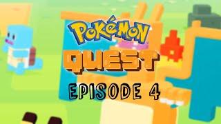 WE BEAT WORLD THREE! (And got an new Pokémon) Pokémon Quest Episode 4