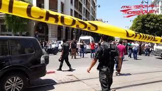 تفجير في شارع شارل ديغول بالعاصمة     -