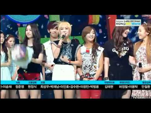 120708 Today f(x) win! @Inkigayo