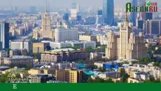 """Giới thiệu chung về thành phố  MOSCOW-RUSSIA  """"ASEANRU TOUR"""""""