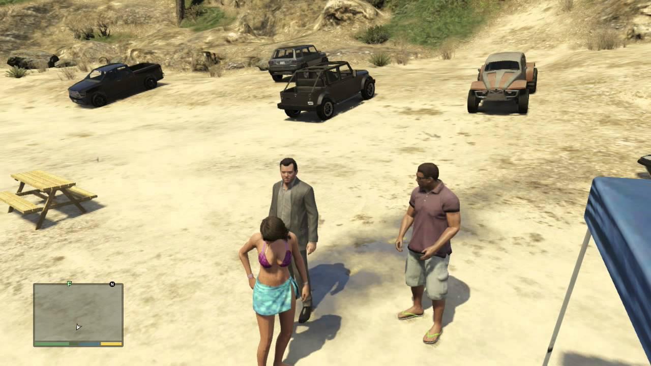 Grand Theft Auto V - woman driver - YouTube