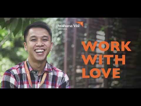 Keseharian di Wahana Visi Indonesia
