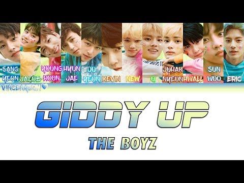 THE BOYZ(더보이즈)_Giddy Up (ColorCoded Han/Rom/Eng) Lyrics
