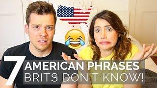 🇺🇸 AMERICAN Phrases BRITS Don't Understand! 🇬🇧| American vs British