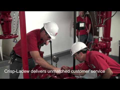 Fire Sprinkler System Pump Test by Crisp-Ladew Fire Protection Co.mov