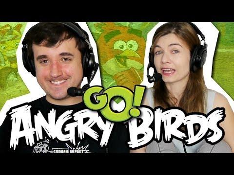 Baixar ELA NÃO ME DEIXA JOGAR!!! - Angry Birds: GO! #01