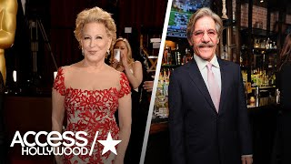 Bette Midler Accused Geraldo Rivera Of Groping Her In The '70s In A Past Interview